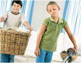deti a upratovanie