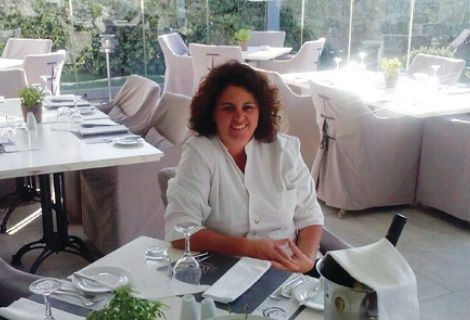 We welcome Mrs Fylakouri as our new Head Chef