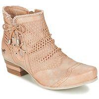 Παπούτσια Γυναίκα Χαμηλές Μπότες Mustang CROTITO Beige
