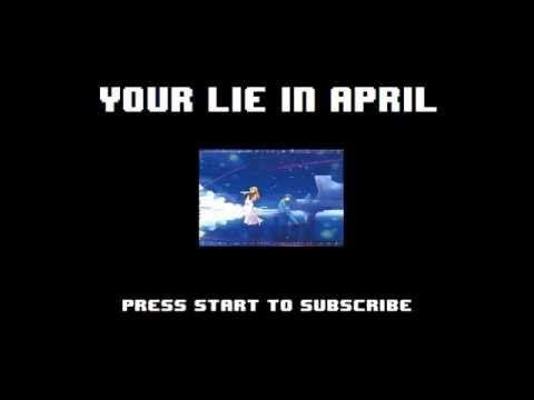 Your Lie in April / Shigatsu wa Kimi no Uso Opening 1 - Hikaru Nara 8-bit NES Remix - YouTube