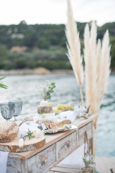 Le chic de la French Riviera avec cette inspiration mariage entre terre et mer Image: 5