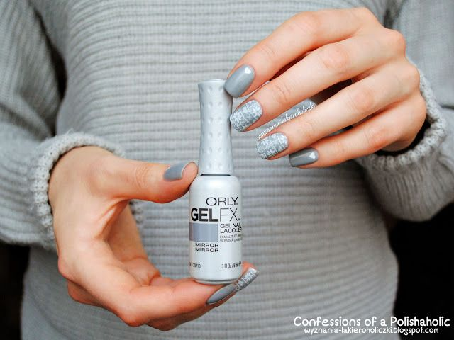 Confessions of a Polishaholic: Orly GelFX Mirror Mirrorr
