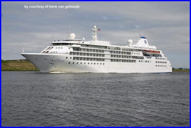 SILVER CLOUD. : Silver Cloud Shipping Ltd. - USA. (Beneficiary owners: Silversea Cruises Ltd. - USA). : Silversea Cruises - USA. Παρθενικό ταξίδι στις 02/04/1994. 16.924 GT ~ 155,80 μ.μ. ~ 21,40 μ.πλάτος ~ 6 κατ/τα ~ 17,5 ~ 20,5 knots ~ 330 επ. ~ 222 ατ.πλ.
