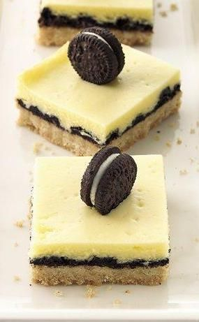 Cookie-Cheesecake Bars