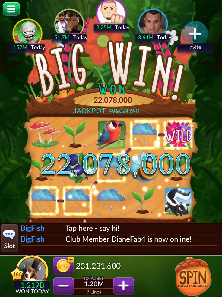 Pin by Raffaella Durante Brendes on Big Fish Wins