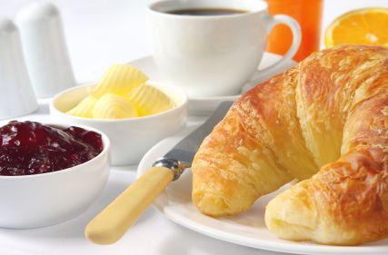 Breakfast - Croissants & Jam