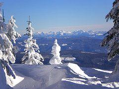 Monashees from Silver Star Mountain, Vernon, BC