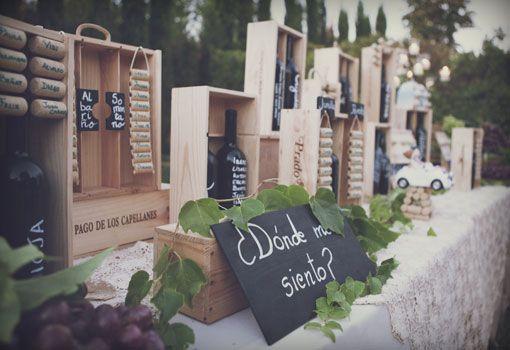 Unos meseros muy especiales: las mesas tuvieron nombres de tipos de uva o denominaciones de origen.