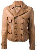 Ralph Lauren Blue Label Leather Jacket - Biffi - Farfetch.com