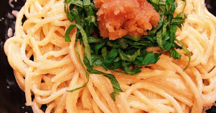 和風たらこパスタ by すぎたま。 [クックパッド] 簡単おいしいみんなのレシピが236万品