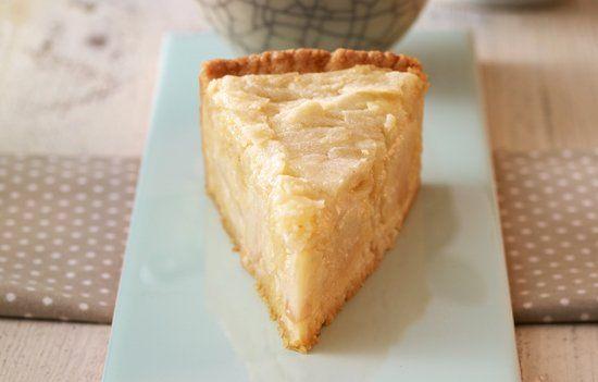 Apfelkuchen mit Marzipan-Mandel-Haube Rezept | Dr. Oetker