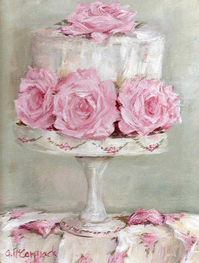 Celebration cake Artist Gail McCormack | ❦ Rose Cottage ❦ | Pinterest)
