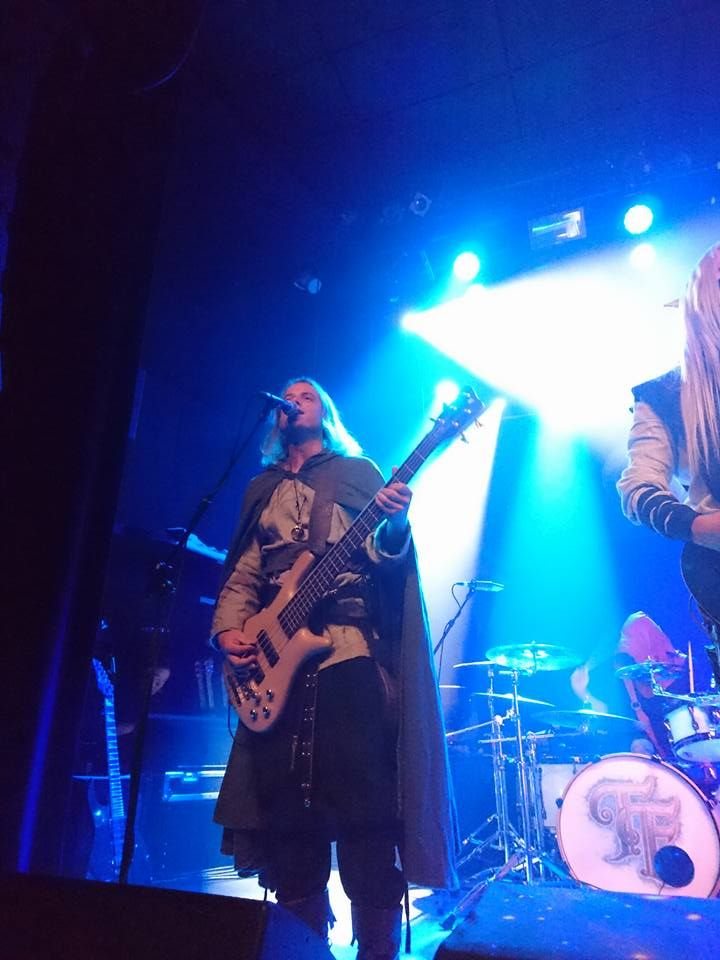 Born - Twilight Force ⚫ Photo by Elise Smit ⚫ Tilburg 2016 ⚫ #TwilightForce #music #metal #concert #gig #musician #guitar #guitarist #bass #bassist #Born #cape #belt #blond #longhair #festival #photo #fantasy #cosplay #larp #man #onstage #live #performing #playing #celebrity #band #artist #Sweden #Swedish #Tilburg