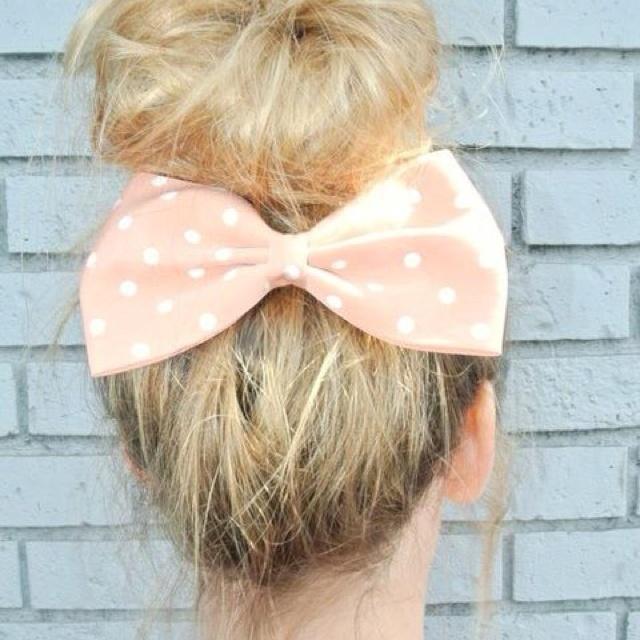 hair bows.