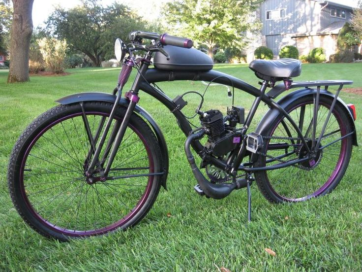 custom bicycles | halloween expansion chamber custom panther bicycle customized welded ...