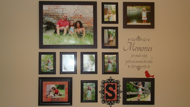 best 25 wall picture collages ideas on pinterest pic collage on wall letter picture collages. Black Bedroom Furniture Sets. Home Design Ideas