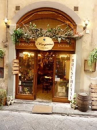 J1 - 3 - Pause dej ou dîner ? - I'Mangiarino - Via de Neri, 65 ou ailleurs !