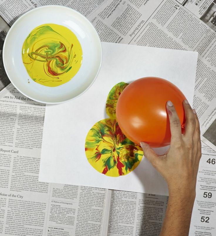 Crafts: Balloon Snowmen   Scholastic.com
