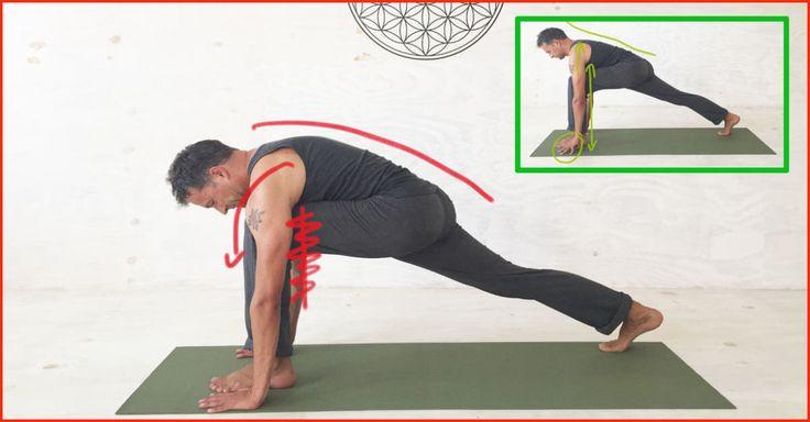 HIER sind typische Fehler in Yoga-Übungen, die nicht nur Anfänger machen. Fals… – Katja Merhof