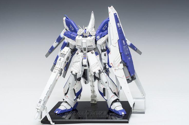 [MG]FA-93-ν2 HWS Hi-ν Gundam H.W.S Ver.Ka 완성 | Daum 루리웹