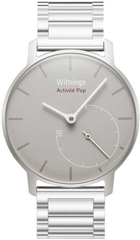 Just in Case Withings Activite Pop Metalen armband - Silver