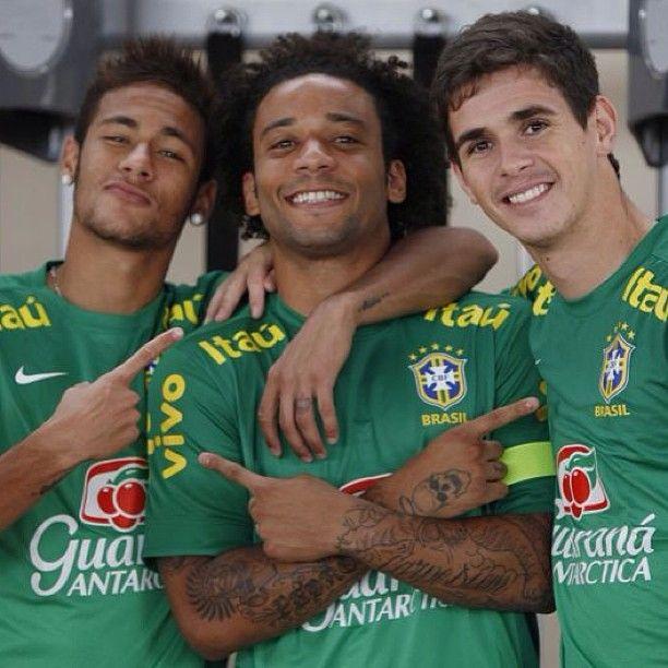 """""""Oscar vai fazer muita falta"""", diz Marcelo sobre a Copa América  #globoesporte"""