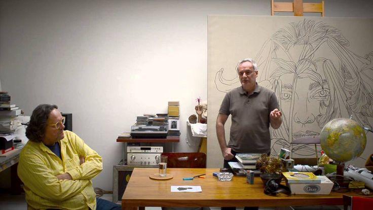 Laco Teren rozpráva vo videu (nie len) o svojej tvorbe.