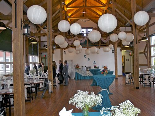 """The Byron Colby Barn is popular for """"do it yourself"""" barn weddings near Chicago for people interested in an affordable wedding venue with a barn atmosphere. // 1 hour north of Chicago"""