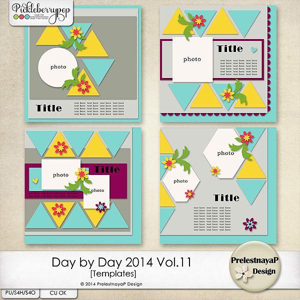 Day by Day 2014 Vol.11 Templates by PrelestnayaP Design