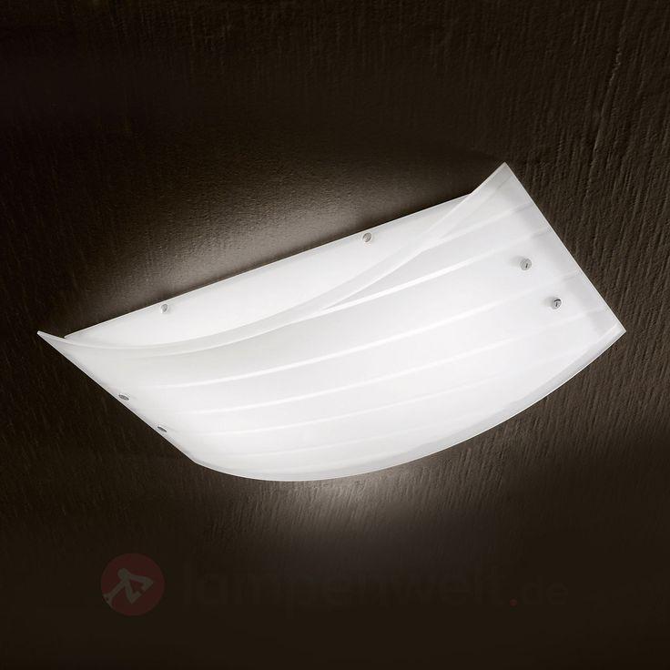 Geschwungene LED-Deckenlampe Lisbona P/P 25 W kaufen   Lampenwelt.de