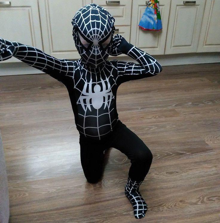 Black Spiderman Kids Costume //Price: $42.34 & FREE Shipping // #hashtag1