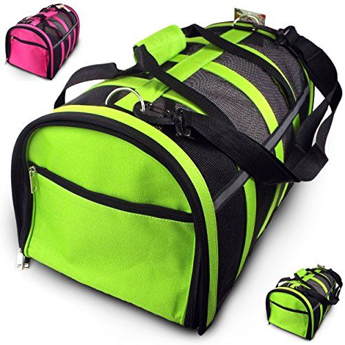 Special Offers - Trip Essentials Under-Seat Folding Airline Pet Carrier (Green) - In stock & Free Shipping. You can save more money! Check It (August 24 2016 at 11:34AM) >> http://doghousesusa.net/trip-essentials-under-seat-folding-airline-pet-carrier-green/
