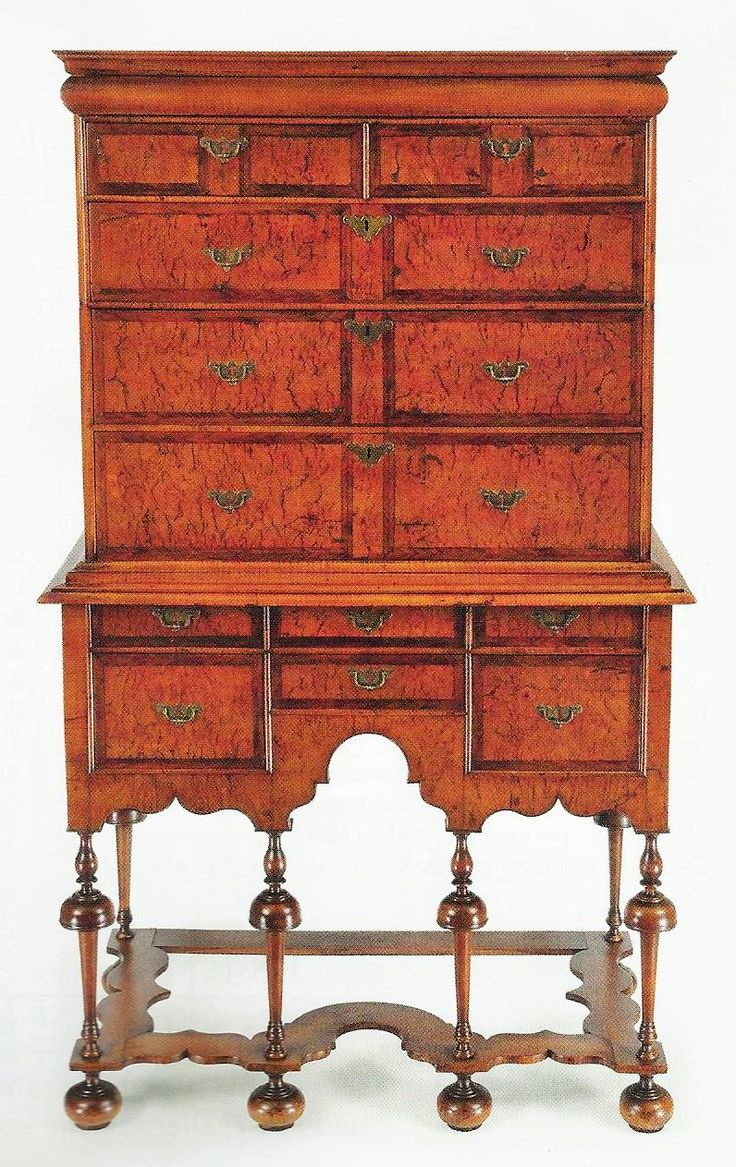 best images about william mary armchairs william mary high chest rhode island ca 1720 figured veneers