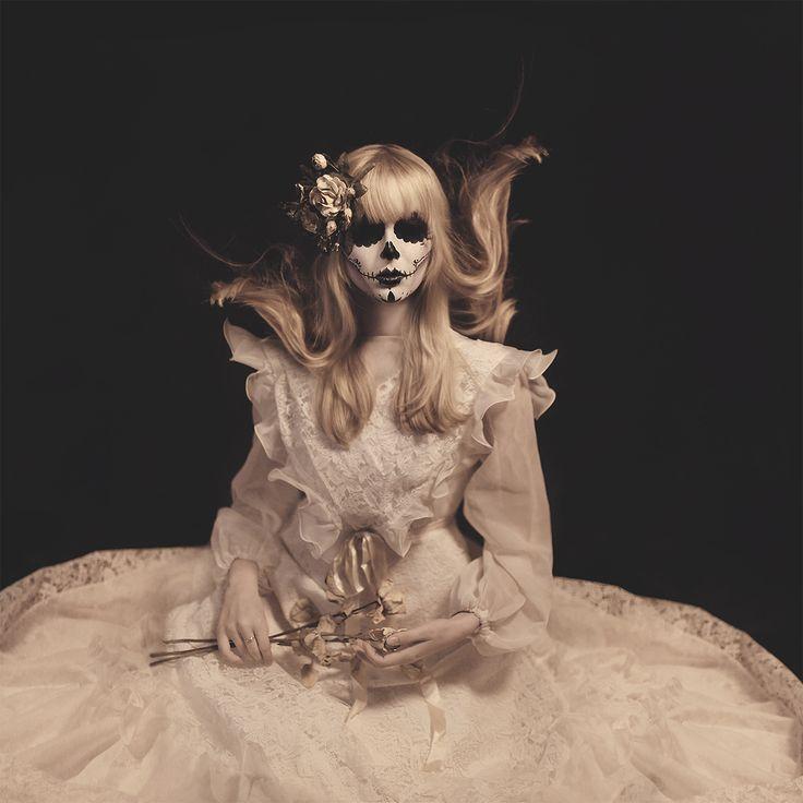 """""""Until Death Do Us Part"""" — Photographer: Janine Machiedo Makeup: Rebecca…"""