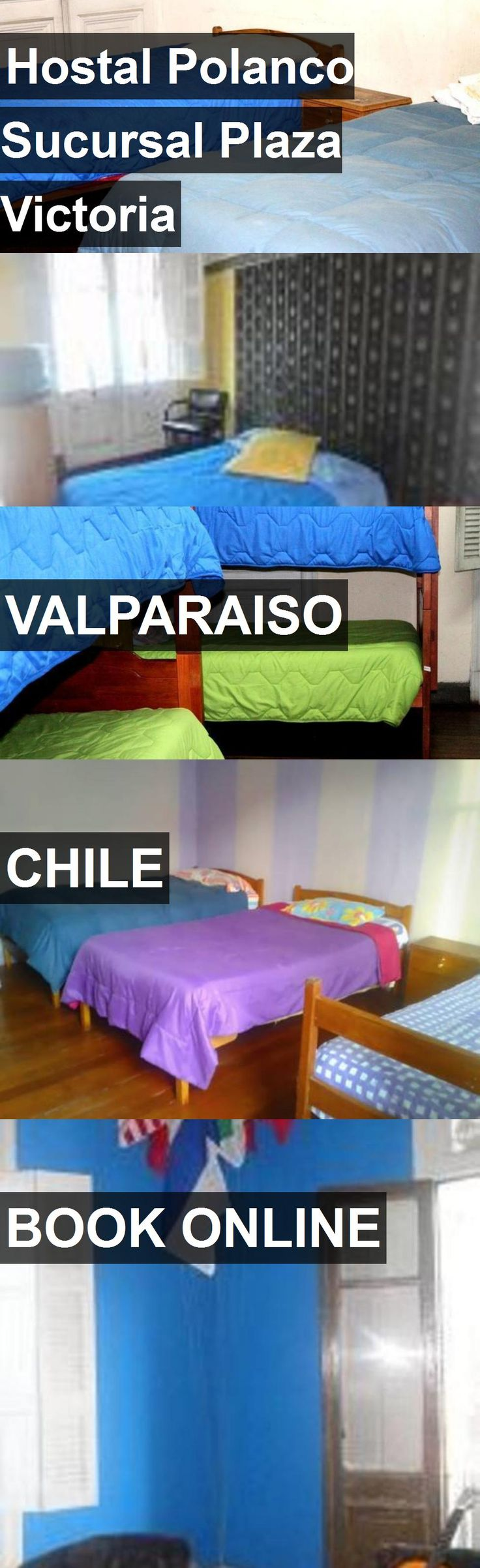 Hotel Hostal Polanco Sucursal Plaza Victoria in Valparaiso, Chile. For more information, photos, reviews and best prices please follow the link. #Chile #Valparaiso #HostalPolancoSucursalPlazaVictoria #hotel #travel #vacation