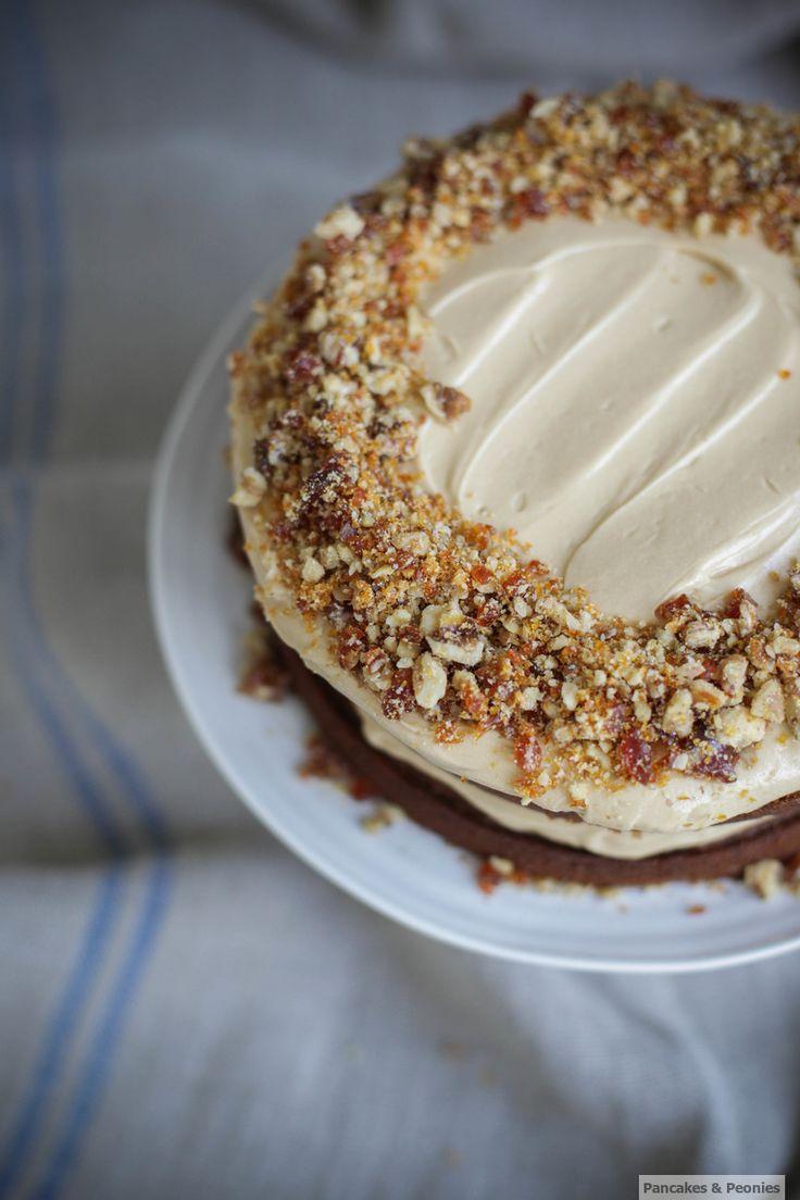 Kaffee und walnuss kuchen pfingstrosen freunde mandelbutter sie coffee cake honey cake my friend big spoon