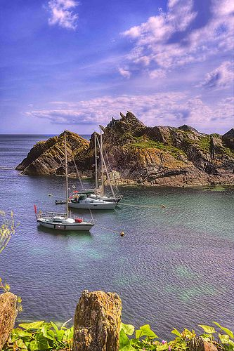 Polperro, Cornwall, UK