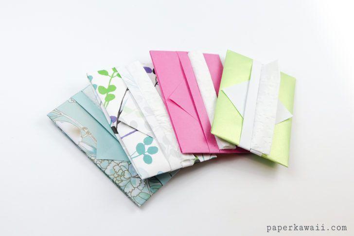 Easy Origami Tissue Holder Tutorial