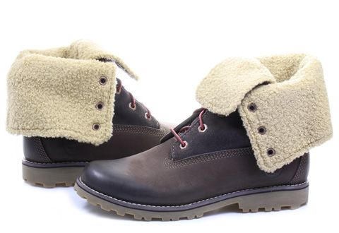 Timberland Topánky - 6 In Shearling Boot - 6298R-DBR