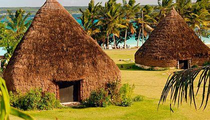 New Caledonia, Lifou, tribal accommodation | Holidays Packages | visit www.ncvoyages.com.au