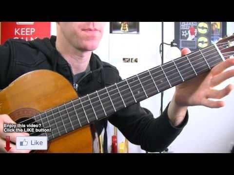 La Bamba - Los Lobos - Guitar Lesson ★ Super Easy Beginners Riff Series ...