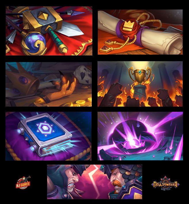 Dungeon Brawlers (art pack 1) on Behance