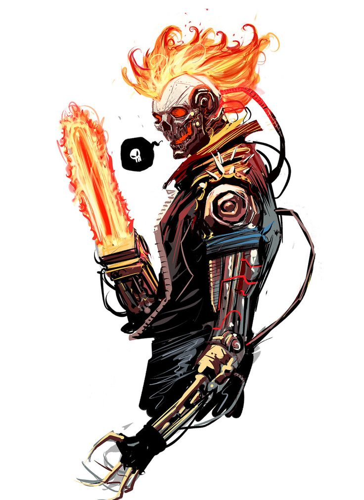 GHOST RIDER 2099 Fan Art by Dan Mora — GeekTyrant