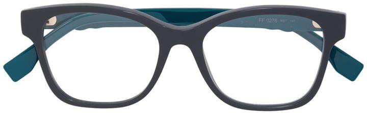 Fendi Eyewear square frame glasses