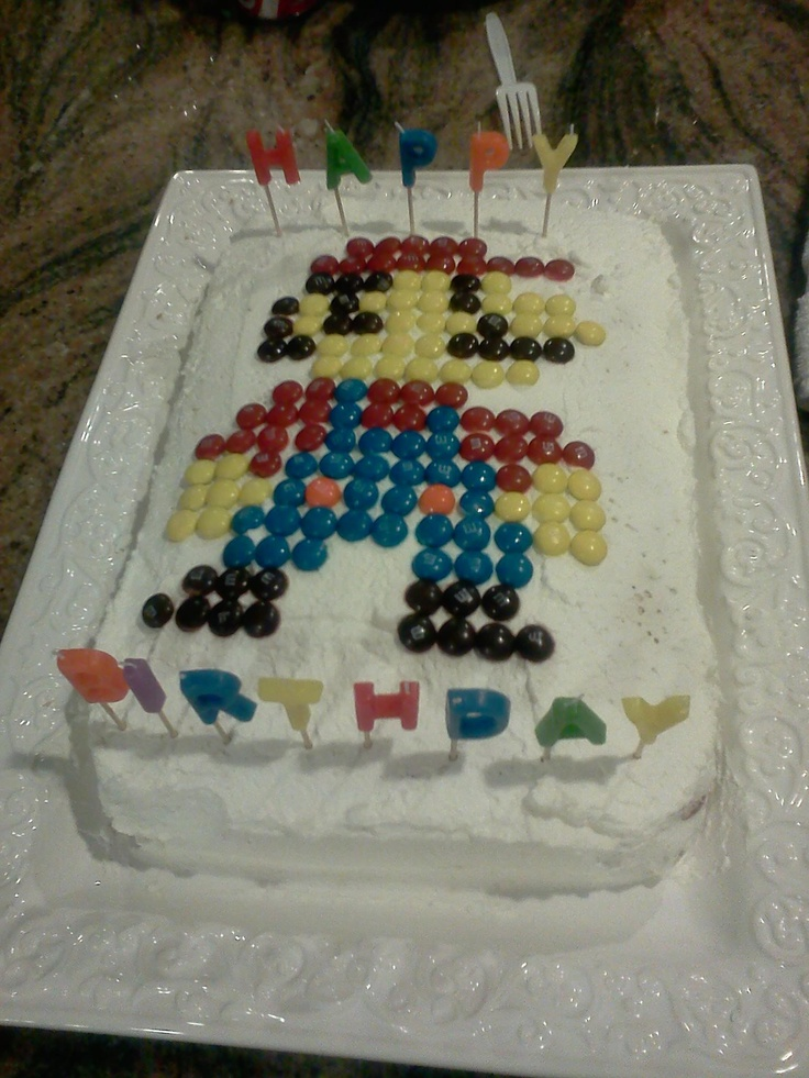 Zelda Pull A Part Cake