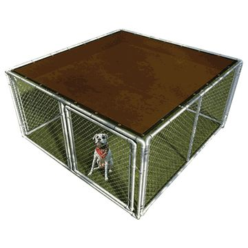 10' X 10' Dog Kennel Shade Mesh Cover