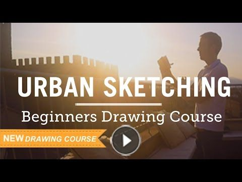 Urban Sketching for Beginners (or how to loosen your drawing style & embrace your wonky lines!)