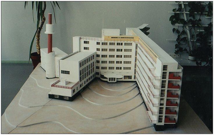 Modell av Paimio sanatorium - Alvar Aalto (1933)