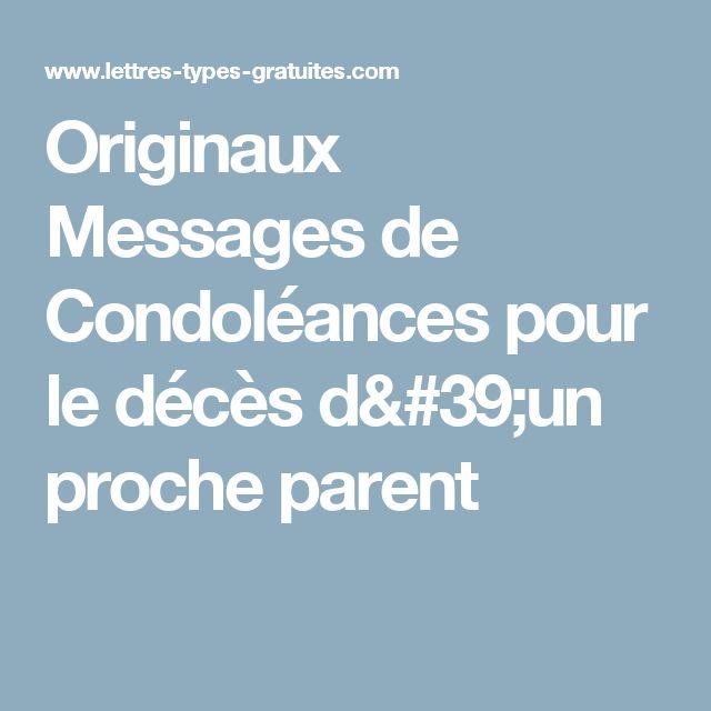 Häufig 20 best Mort et Condoléances images on Pinterest | Messages  BP99