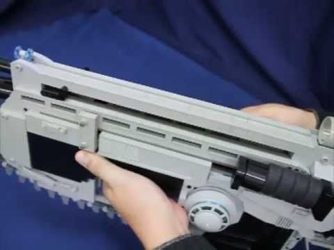 Crazy Gears of War LEGO Lancer Assault Rifle
